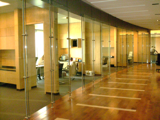 Interior Office Glass Walls